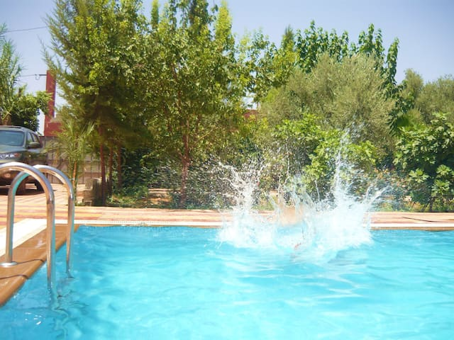 House with pool Beni-Mellal area - Beni-Mellal - Talo