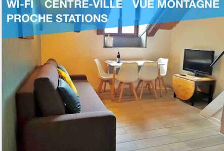 UN COSY STUDIO DUPLEX AU COEUR DE SALLANCHES
