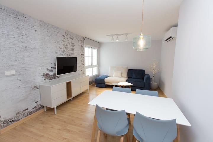 Apartamento acogedor en pleno centro y sin ruido.