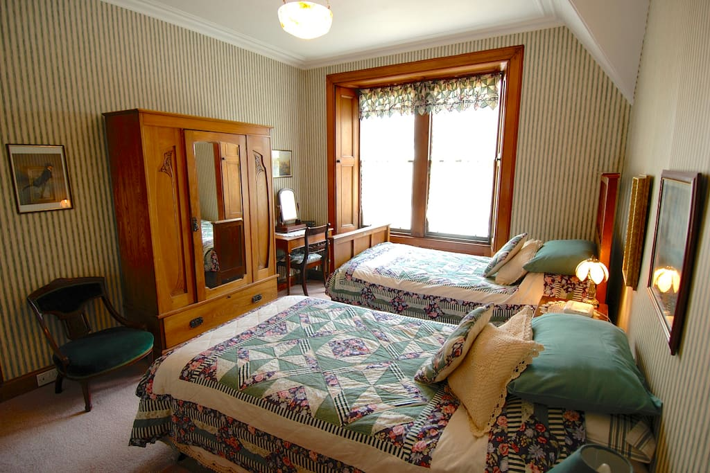 The bedrooms have been individually decorated and each retains its own special character.