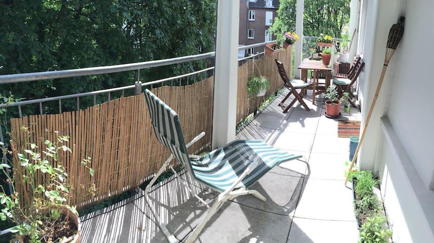 Wunderschöne 2 Zm Wg im Herzen Hamburgs - Hamburgo - Apartamento