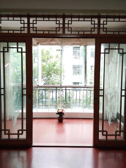 梅花阁阳台
