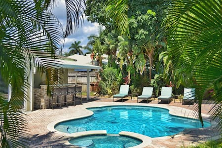 Flying Fish Waterfront Villa - Oakland Park - House
