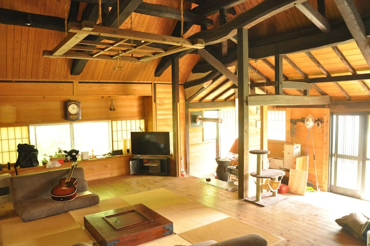 traditional Japanese house. Senzu hermitage. - Hitachiota - Casa