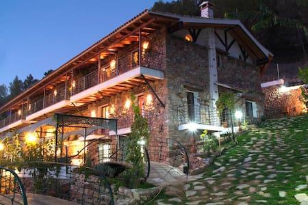Casas Rurales El Serbal. Con Piscina climatizada - Benatae - Haus