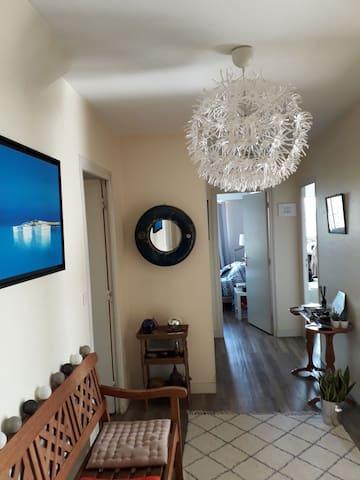 Chambre particulière dans grand appartement centre