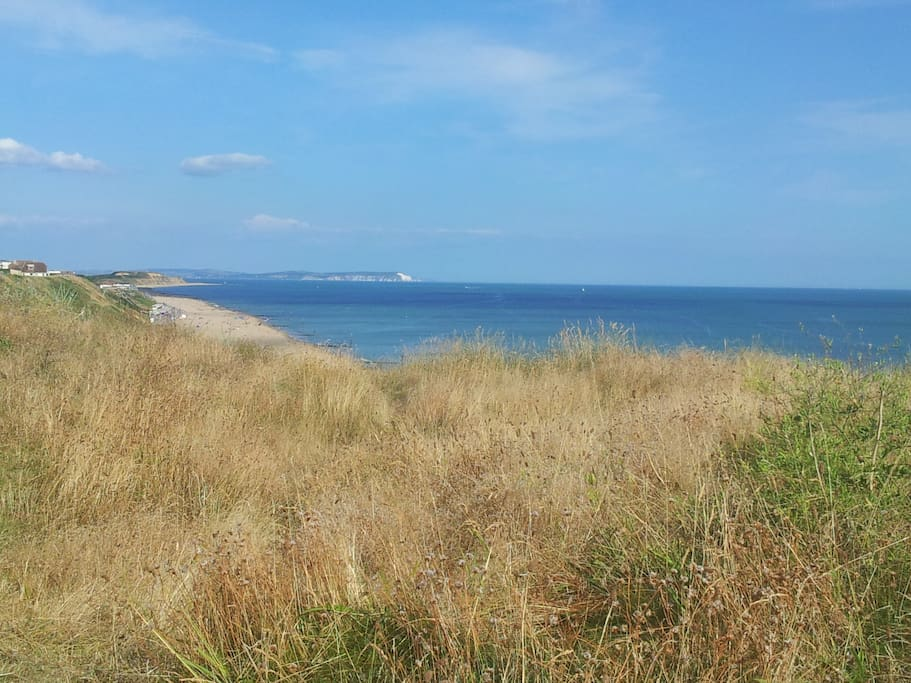 Southbourne looking across to Isle of white
