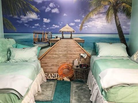 Mega Sanitized Private Beach Suite in Safe Suburb