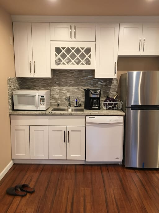 Appliances for Guest Use.