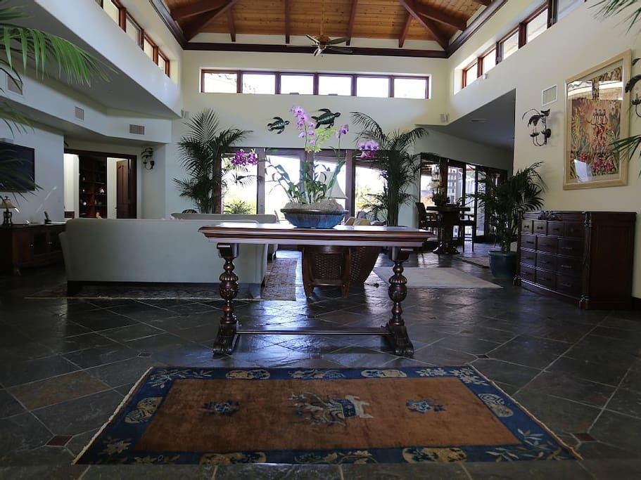 Large open traditional home