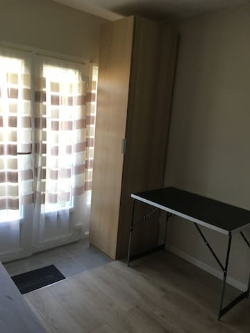 Chambre privative en location