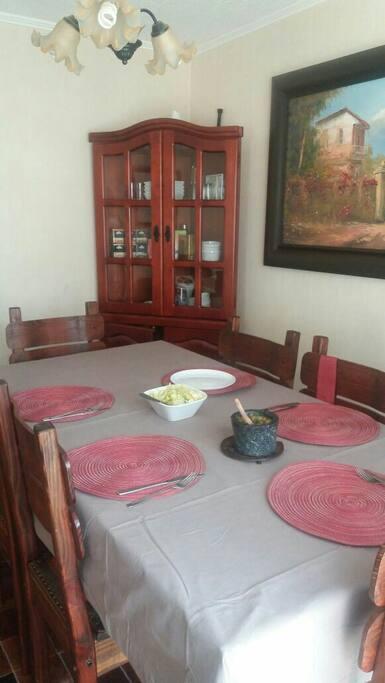 Living comedor