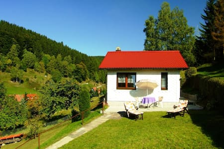 Holiday Home in Langenbach with Garden, Terrace & BBQ