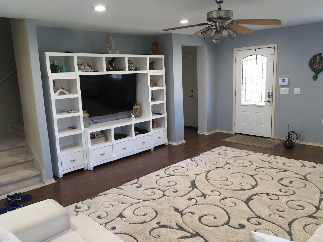 Living Room - 65 inch smart tv