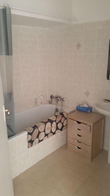 Une des 2 salles de bain