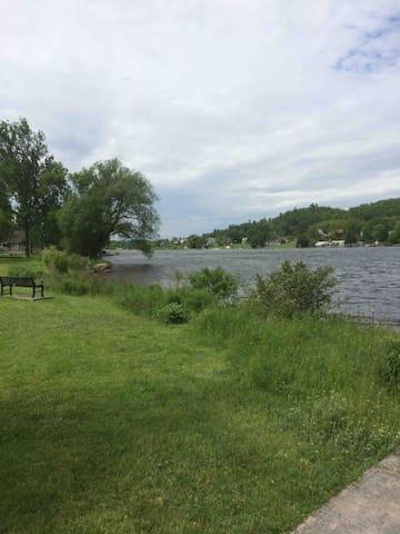 Fishing Trent river