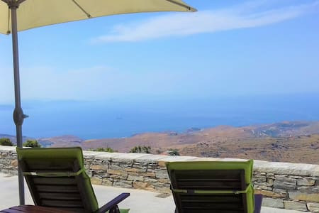 Superb Studio with Stunning Sea views-Kea-Cyclades