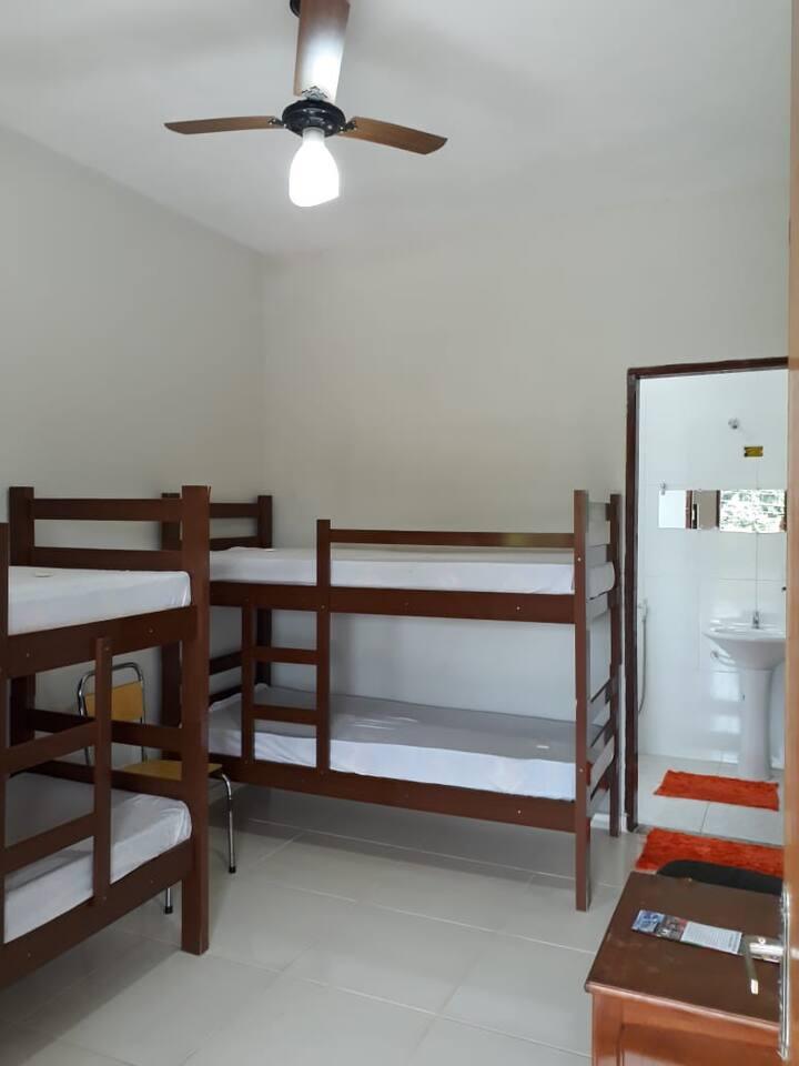 Carnaval Ibirá para 4 pessoas - quarto 3