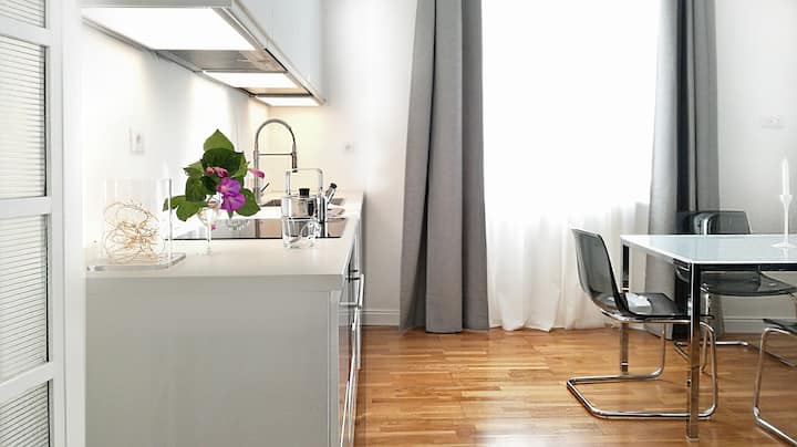 Comfortable, bright and central Rome apartment!