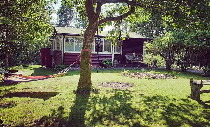 Holiday cottage near lake- Oskarström-Halmstad