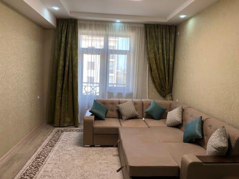 Sweet home.  New apartment 80m2. Karasaray.