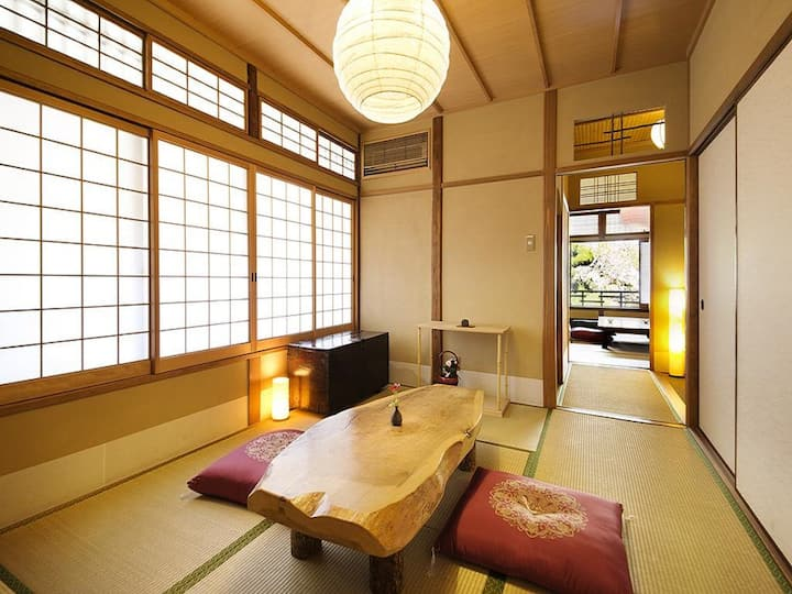 Traditional Japanese Style Family Room