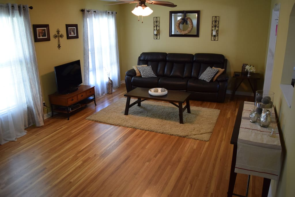 Main level living area.