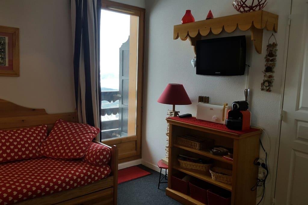Appartement à la décoration soignée