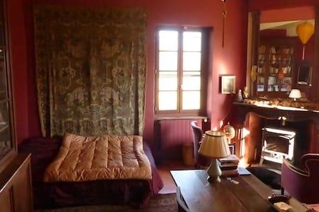 Grande chambre paisible dans maison de caractère - Montaut