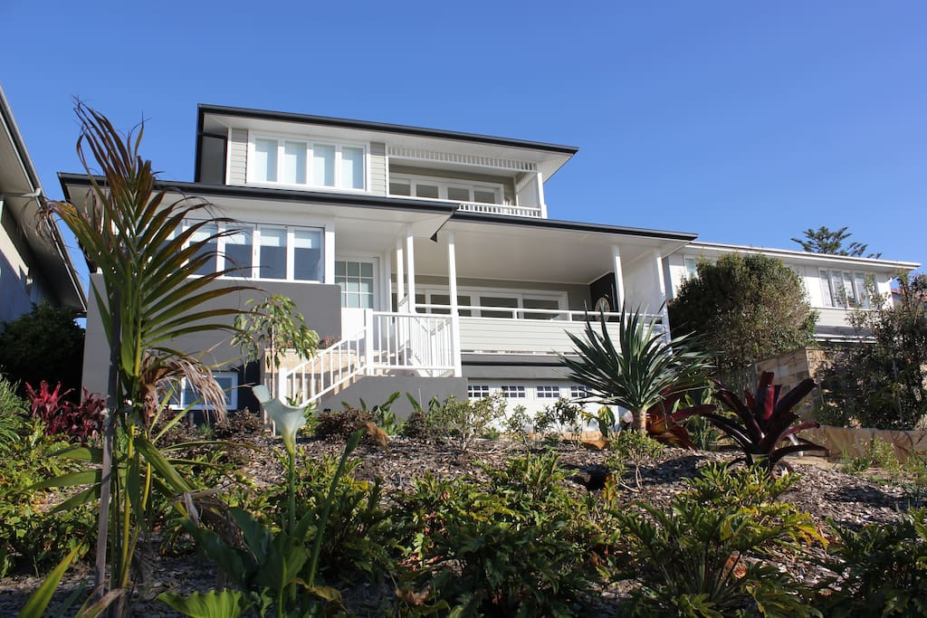 Front of House Facing towards Warriewood Beach