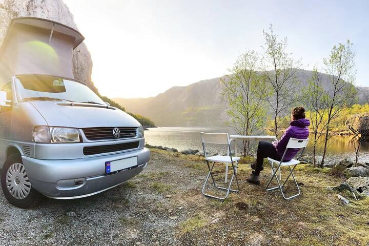 Stavanger Campervan to explore Norwegian Fjords