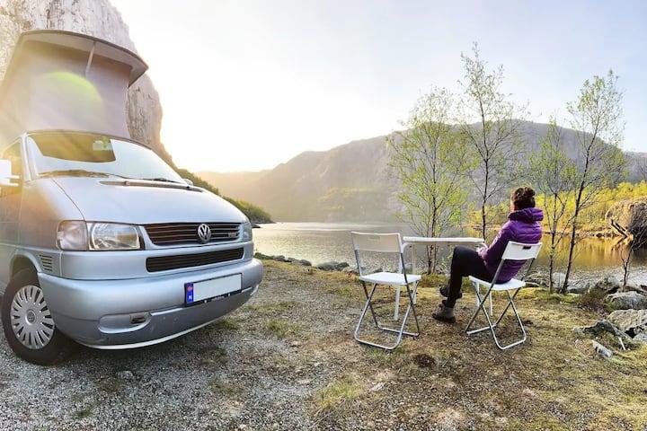 Stavanger Campervan to explore Norwegian Fjords