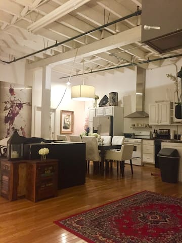 Beautiful open loft Apartment in East Williamsburg - Brooklyn - Appartement