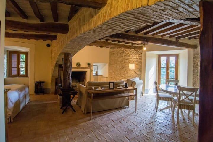 Appartamento Il Principe - Castello di Frontignano - Todi - Wohnung