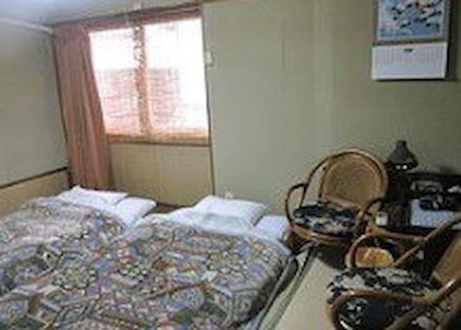 nakazonoryokan Room215 wifi無料、天文館、港まで徒歩10分
