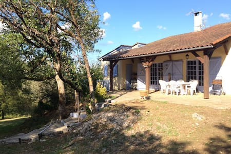 Villa-Piscine. Parc Régional des Causses du Quercy - Boussac