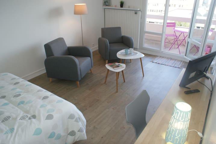 Appartement Perle d'Ô, Gare et Centre-ville à pied - Saint-Brieuc - Appartamento