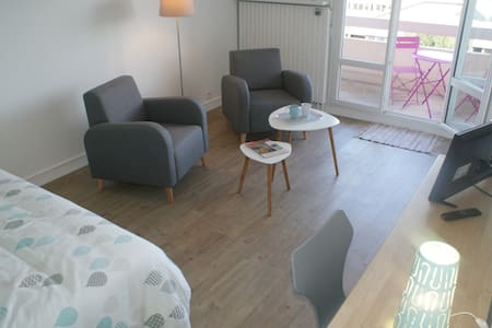 Appartement Perle d'Ô, Gare et Centre-ville à pied - Saint-Brieuc - Appartement