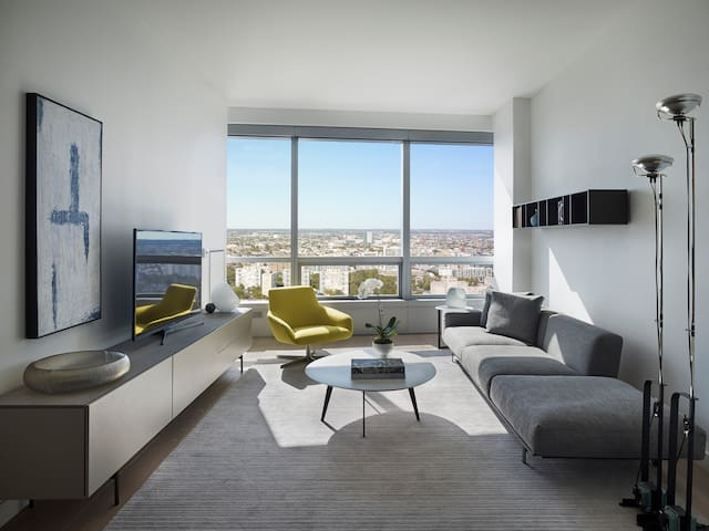 AKA Residences - One Bedroom Penthouse w/Library - Monthly
