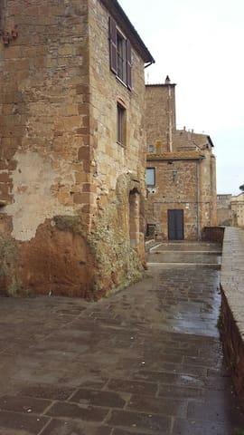 """CASA """"Antico lavatoio"""" -  VISTA SULLA VALLE ! - Pitigliano"""