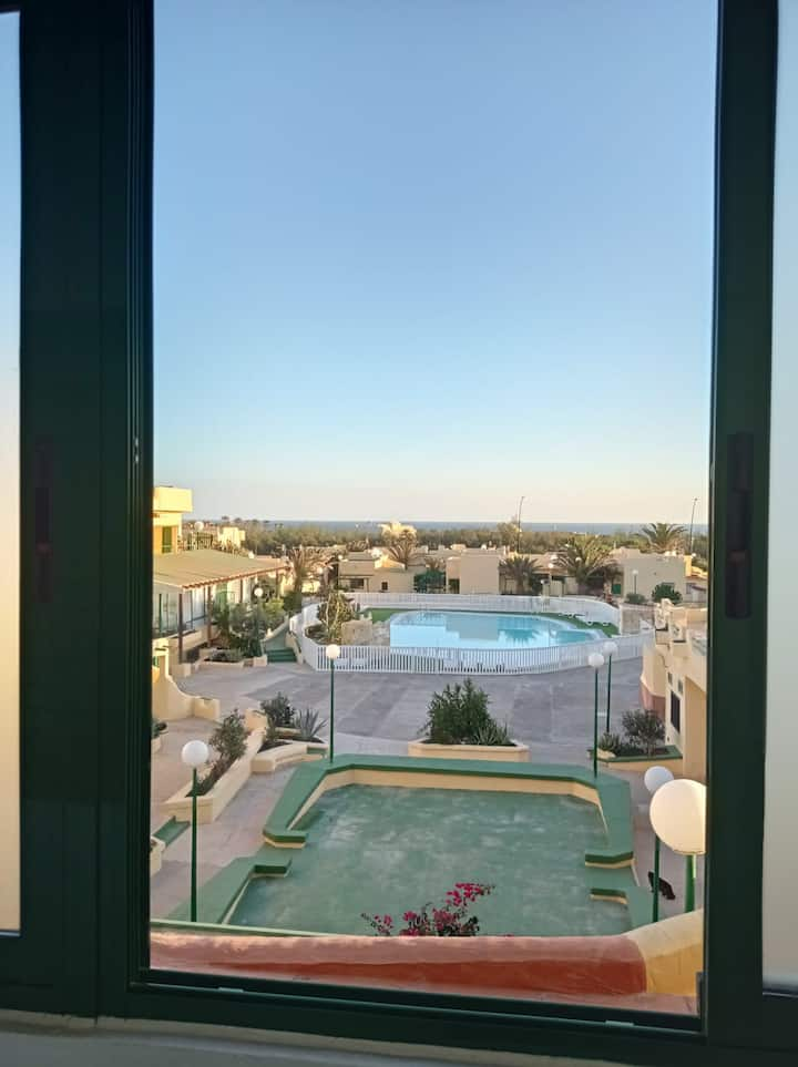"Cozy Vacation Apartment ""Casa Ango"" with Shared Pool, Wi-Fi, Balcony & Terrace; Parking Available"