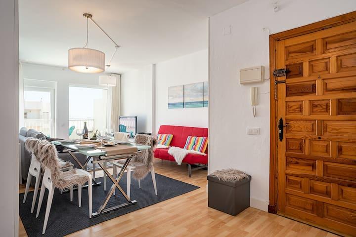 Lovely Beach Apartment at Costa de la Luz
