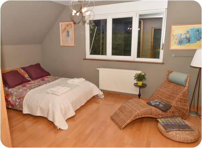 Chambre Zen dans maison à Strasbourg avec  jardin - Straatsburg - Huis
