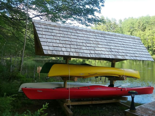 Kayaks available for our guest.