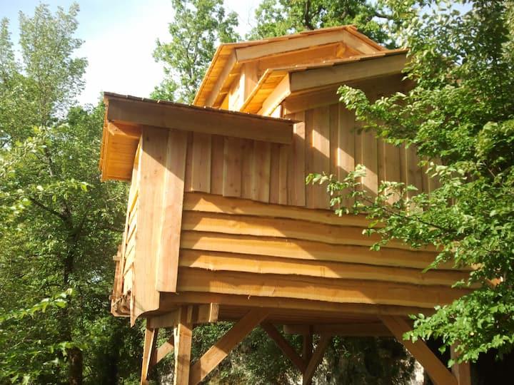 cabane de la source-Log Cabin-Standard-Ensuite with Shower-Countryside view