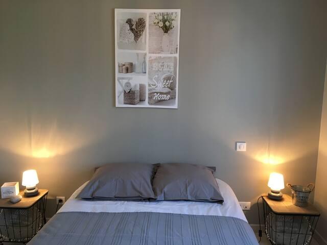 Chambre cosy pour pause détente