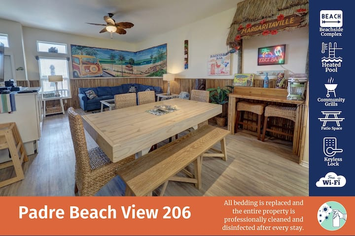 Padre Beach View 206K