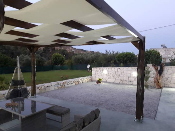 New!Renaissance Modern Stone Home at Chania Vryses