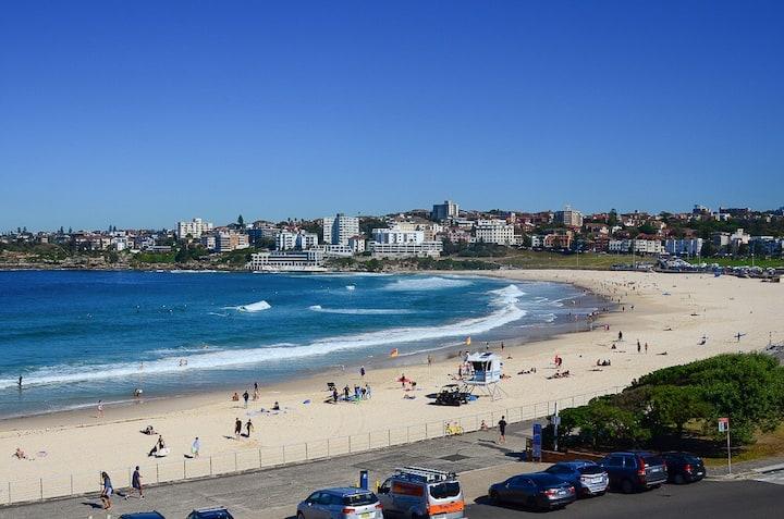 Amazing view opposite Beach