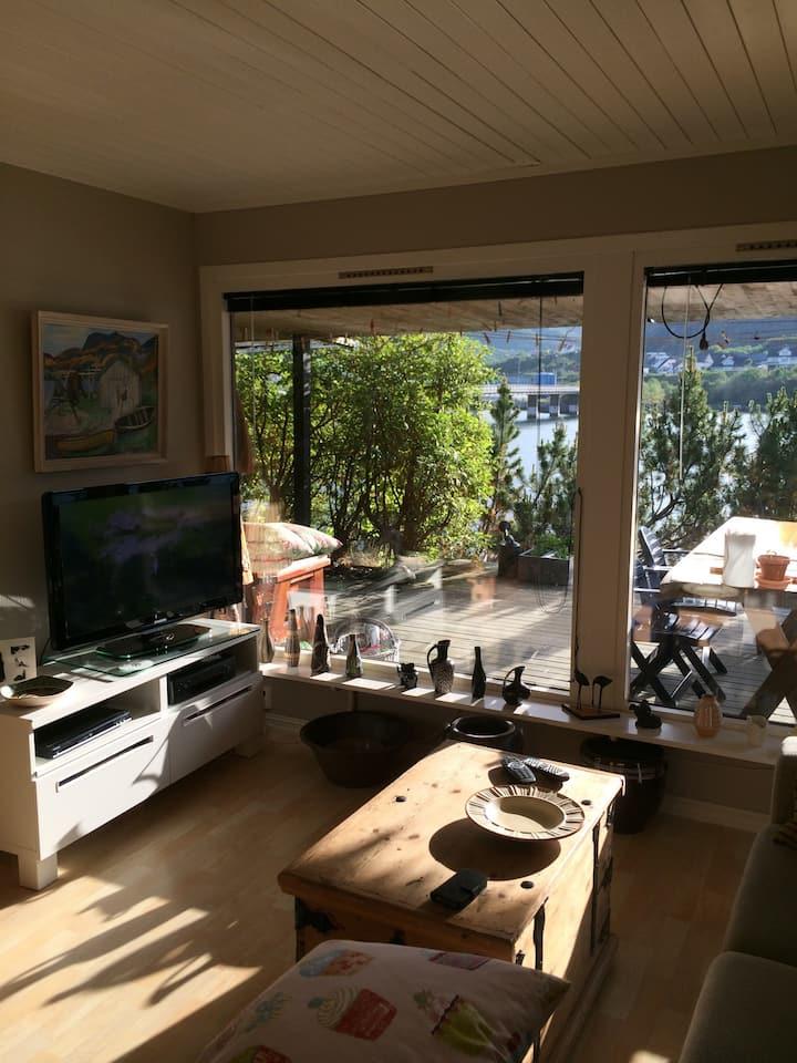 Hyggelig leilighet